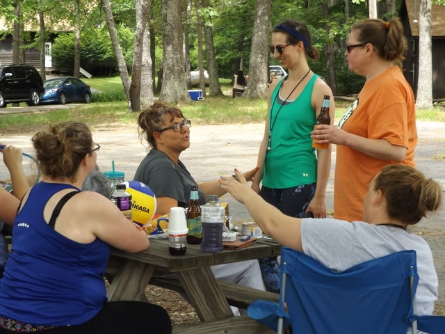 Camp Throwback lets adults relive excitement of their youth