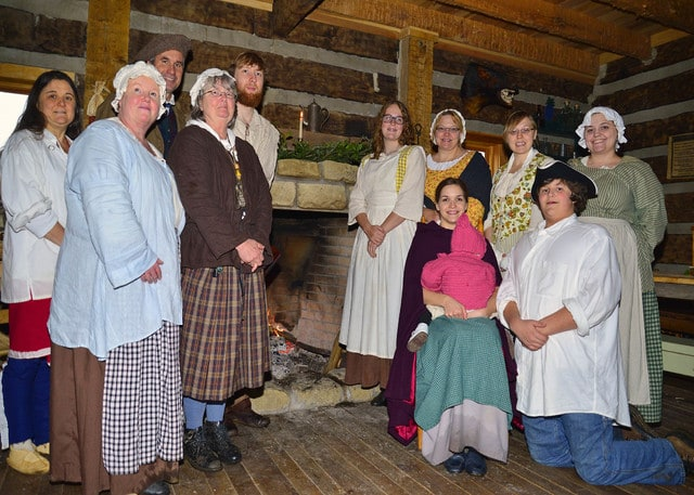 Christmas on the Frontier in Point Pleasant Dec. 5