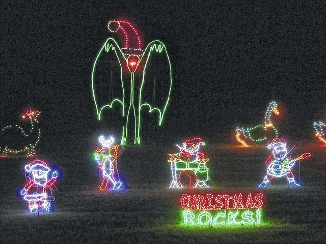 Lighting up Krodel with Christmas in Point Pleasant