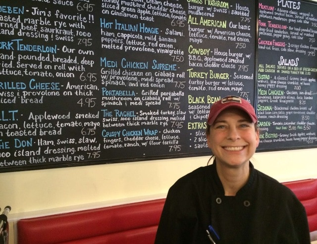In the kitchen with Fat Cat Diner owner Alisa McPheron