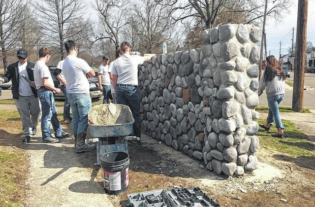 Scioto County Career Technical Center masonry students give back to Head Start