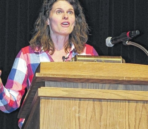 Lindsey Lusher Shute inspired by Gallia County's rural life