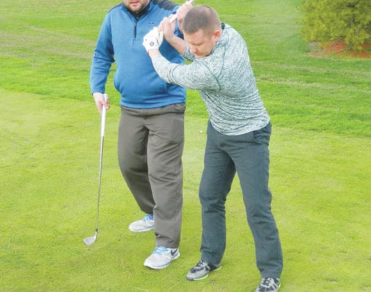 Snow Hill Country Club pro Mike Deters offers golf tips