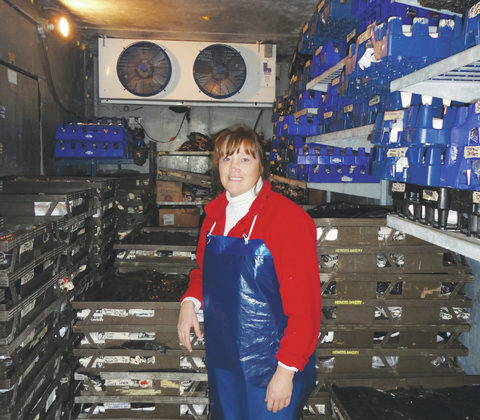 Sharon Fulton of Albany has a lot to process