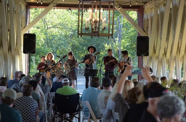 Union County Covered Bridge Bluegrass Festival offers weekend of Americana and music