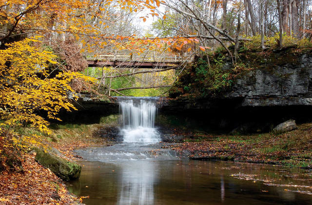 Glen Helen offers variety of fall scenery to hikers