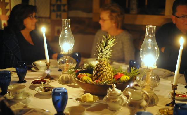 Harvest Dinner at the Cabin offers ambiance