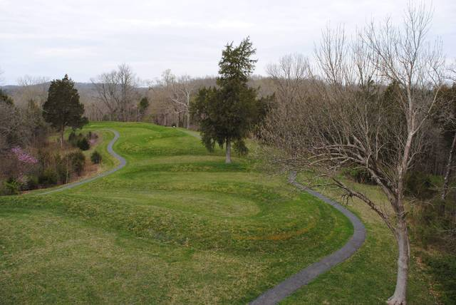Experience the peace of Serpent Mound