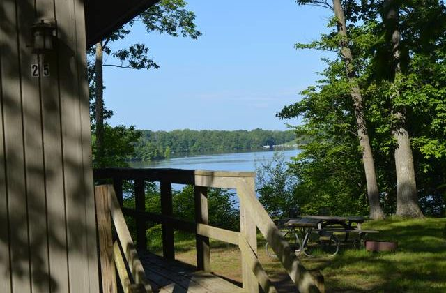 Find your peace at Cowan Lake State Park