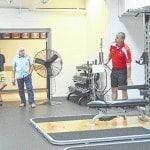 IL board members visit updated weight room