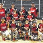 Huntsville 1 sweeps doubleheader to win Farm League trophy