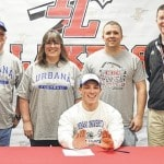 Joey Davidson signs with Urbana University