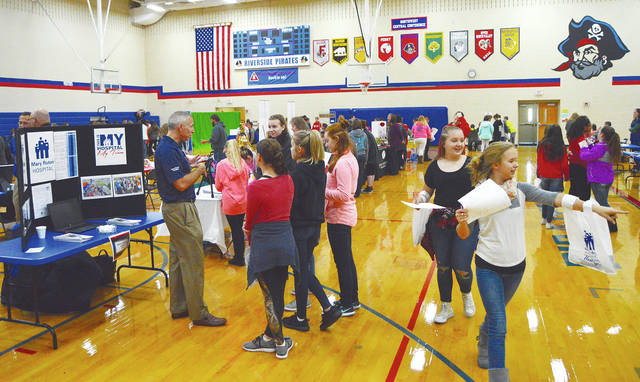 Logan County Career Day drew a crowd.