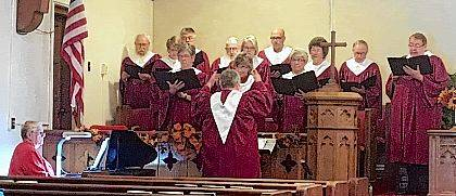 "On Sunday, Nov. 12, at 6:30 p.m., the Huntsville Presbyterian Church, 6490 Fruit Street, Huntsville, will host an old fashioned ""Hymn Sing of Thanksgiving."" The public is invited to raise their voice in songs of praise and thanksgiving. HPC's Chancel Choir, under the direction of Susan Young and accompanied by Jean Ann McLaughlin, will lead the assemblage in the singing of favorite old hymns. This event is free and open to the public. Dress is casual."