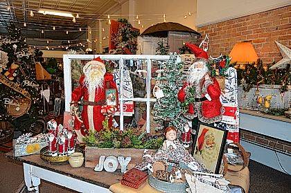 Highland Country Store participated in West Liberty's Christmas in the Village.