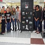 Students honor long-time bus driver