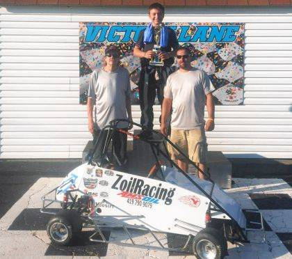 14-year-old Skylor Mueller of Logan County pulls a win in his 160 and a 3rd in his unrestricted. He raced at Miami Valley, located in Killkare, on June 2. On June 3, he raced the Obtez Fortress in Columbus and took first in both classes, his 160 and his unrestricted animal. The weekend of June 9-10, he is racing under the lights at Lions Park in West Liberty. Admissions are always free. Racing starts at 730pm.