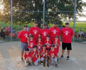 Huntsville #1 wins T-ball tourney