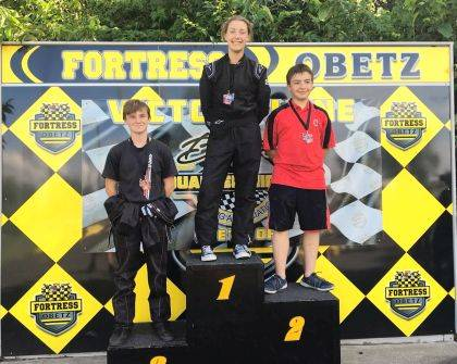 Skylor Mueller of West Liberty on June 8 came in 2nd in his animal 5th in his 160. On June 9, he came in 4th in his 160, 5th in his animal. June 10 was a Mid Ohio series race held at Buckeye Quatermidget Club, where they welcomed almost 50 local racers. He took 2nd in his 160 and 3rd in his animal car.