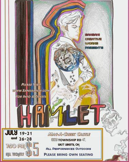 "To reserve tickets in advance for ""Hamlet,"" visit www.SansamiCW.com/tickets."