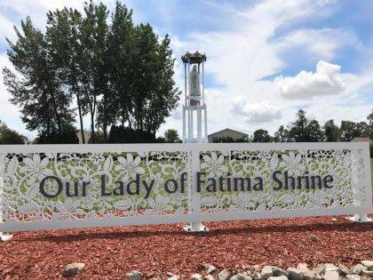 This photo is of the Our Lady of Fatima Shrine at Indian Lake.