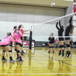 Volleyball teams raise money to fight breast cancer