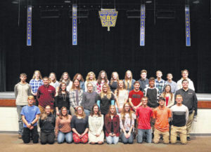 Honor Society conducts tapping ceremony