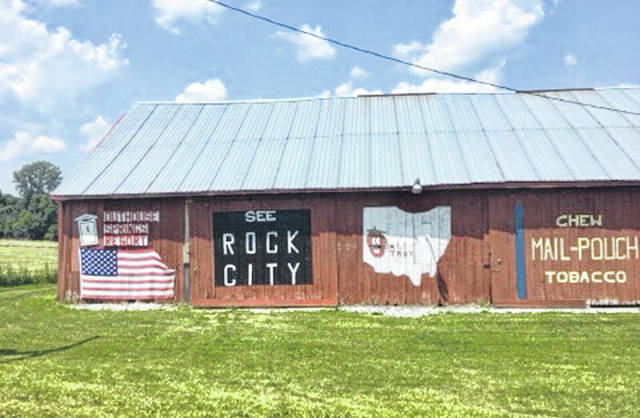 "This iconic ""See Rock City"" barn sign is on an old barn on a country road between Huntsville and Lima. Nine-hundred barns were painted with that slogan in 19 states. Fall is a great time to visit Rock City."