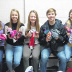 Sophomores collect socks for those in need