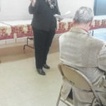 Ohio Consumers' Counsel rep visits retired teachers