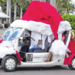 Christmas Golf Cart Parade set for Saturday