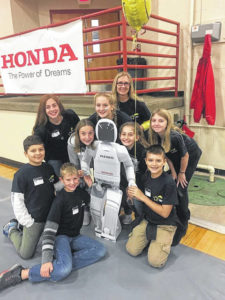 Robo Lego Geek Squad takes grand champ award