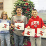 Indian Lake Students of the Month