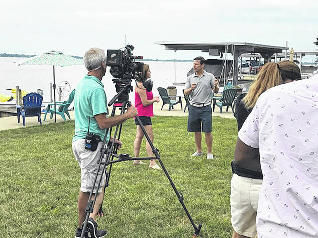 """Scenes for two episodes of """"Island Life"""" were filmed this summer at Indian Lake."""