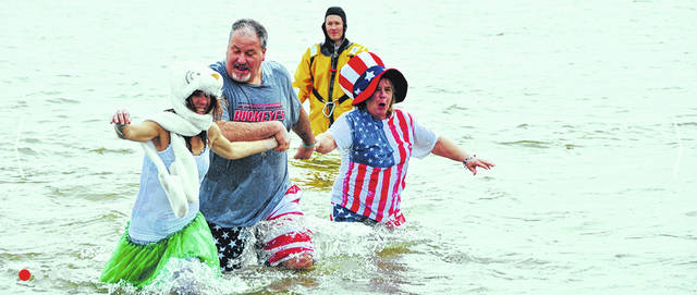 This adventurous family took the Polar Plunge last year at Indian Lake and helped raise over $24,000 for Special Olympics Ohio.