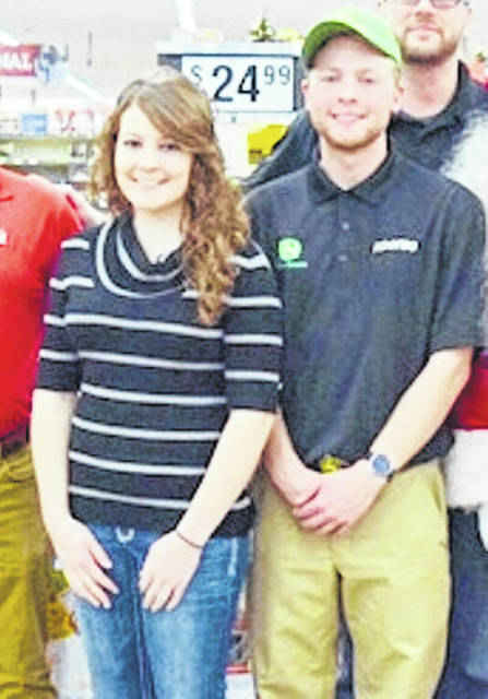 Siblings Tyler and Monica Slaven of DeGraff not only run a successful toy drive they started in high school, but also put on a local clothing drive for the homeless and veterans.