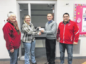 Watershed Project donates to IL Music Dept.