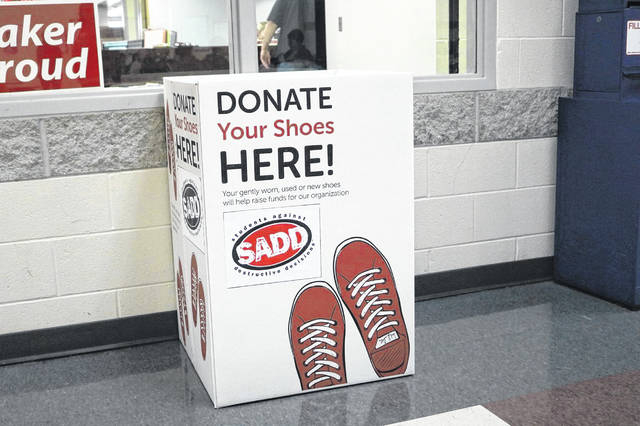 Shoe drive helps developing countries and local SADD chapter.