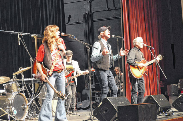 The Cowsills perform at the 50 Years of Indian Lake Concert.