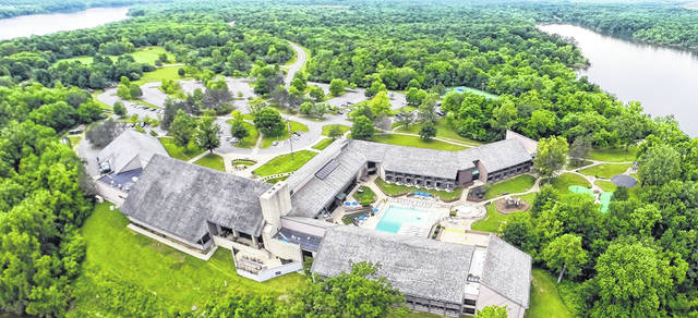 The Deer Creek Lodge and Conference Center with its beautiful sprawling grounds in Mt. Sterling is a popular venue for weddings.