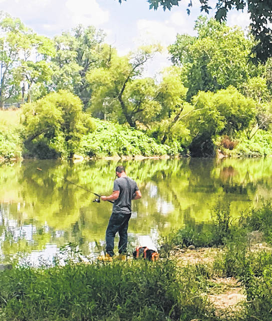 Find your slice of paradise this spring, whether it's a a lake cove, farm pond or riverbank, and go fishing. Don't forget to get your fishing license.