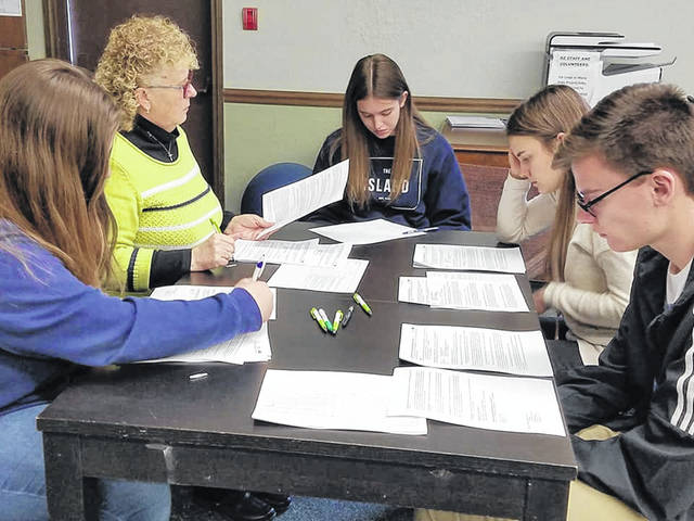 Teens on the Student United Way committee reviewed grant applications from 14 organizations whose combined requests totaled more than $70,000. The students had $25,000 to spend.