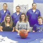 Whitney Terry signs with Hocking College
