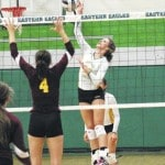 Lady Lancers spoil Eastern's home opener