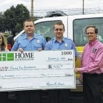 Home National Bank donates to Meigs firefighters