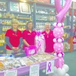 Fruth shows support for breast cancer awareness
