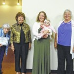 Gallia geneology society presents Century Families certificate