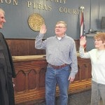 Judge swears in two new mayors