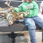 7-year-old bags buck