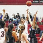 Lady Panthers sweep Point, 76-28